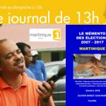 18 11 04 LE MEMENTO DES ELECTIONS SUR RADIO MARTINIQUE 1ERE JOURNAL 13H