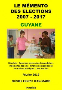 19 01 16 COUVERTURE  MEMENTO ELECTIONS GUYANE A4 KINDLE