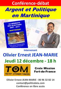 19 12 12 conference  ARGENT ET POLITIQUE MQ web